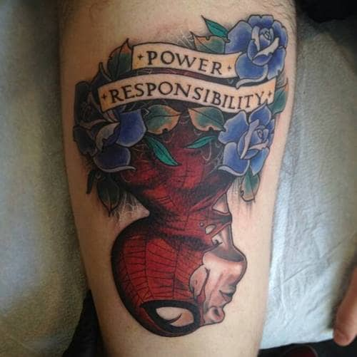 spiderman-tattoo-1